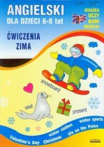 Angielski dla dzieci 6-8 lat Ćwiczenia jesień + Ćwiczenia zima