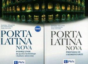 Porta Latina nova Podręcznik do języka łacińskiego i kultury antycznej Porta Latina nova Preparacje i komentarze