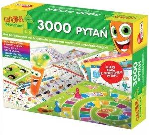 3000 pytań Carotina preschool 3-6 lat