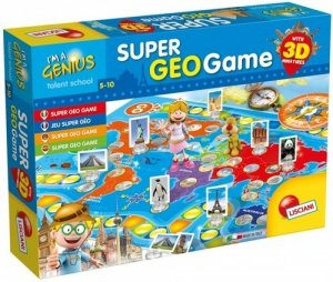 I'm A Genius Super Geo Game Miniaturowy świat 3D