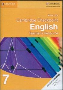 Cambridge Checkpoint English 7 Teacher's Resource