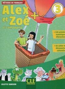 Alex et Zoe + 3 Podręcznik + CD
