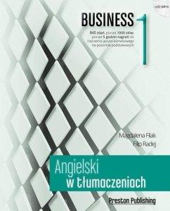 Angielski w tłumaczeniach 1 Business. Poziom podstawowy z płytą CD