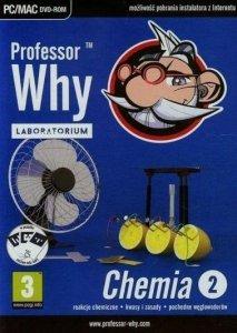 Professor Why Laboratorium. Chemia 2: reakcje chemiczne, kwasy i zasady, pochodne węglowodorów. PC/MAC DVD-ROM
