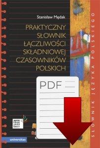 Praktyczny słownik łączliwości składniowej czasowników polskich (A2-C2) EBOOK