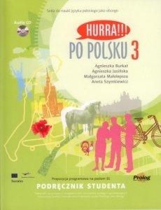 Hurra Po Polsku 3. Podręcznik studenta + CD
