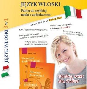 Język włoski 3w1. Pakiet do szybkiej nauki z audiokursem