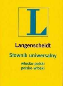 Słownik uniwersalny polsko-włoski, włosko-polski Langenscheidt