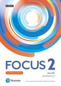 Focus Second Edition 2 Workbook + kod (MyEnglishLab + Online Practice)