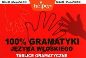 100% gramatyki języka włoskiego Tablice gramatyczne Helper