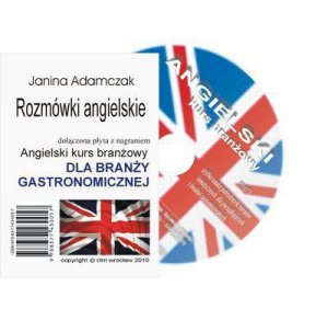 Angielski dla branży gastronomicznej. Słownictwo branżowe na CD MP3