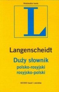 Duży słownik polsko-rosyjski, rosyjsko-polski Langenscheidt