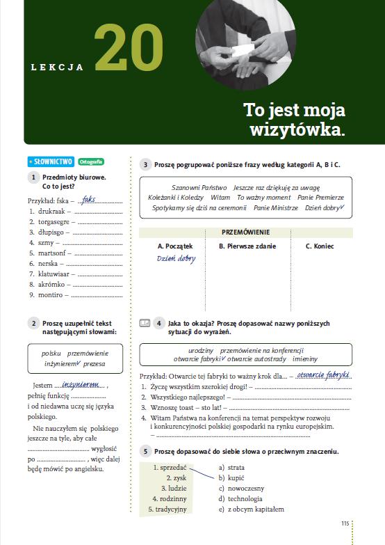 Hurra Po Polsku 1. Zeszyt ćwiczeń. Nowa edycja - przykładowa strona