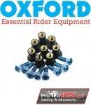 Śruby owiewek / do szyby 8 sztuk OXFORD niebieskie