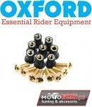 Śruby owiewek / do szyby 8 sztuk OXFORD złote