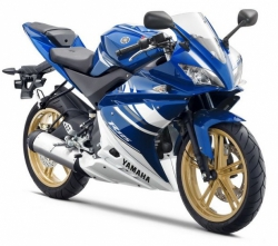2010 Yamaha YZF-R125 DEEP PURPLISH BLUE METALLIC 1