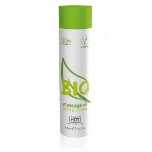 Olejek-HOT BIO Massage oil ylang ylang 100ml.