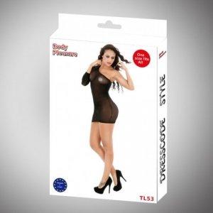Body Pleasure - Sexy Lingerie Set - one size - black TL53
