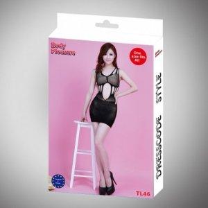 Sukienka - Dress TL46 black one size