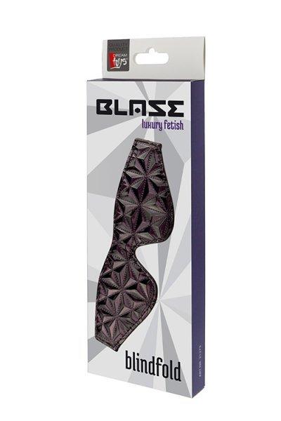 Maska-BLAZE BLINDFOLD PURPLE