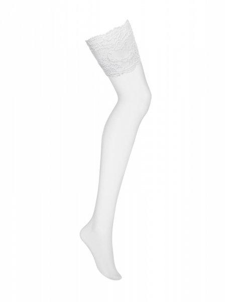 Bielizna 810 STO2 pończochy białe  S/M
