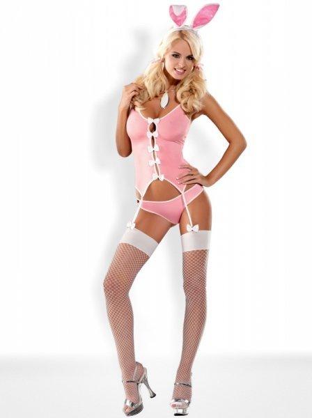 Bielizna-Bunny suit kostium L/XL