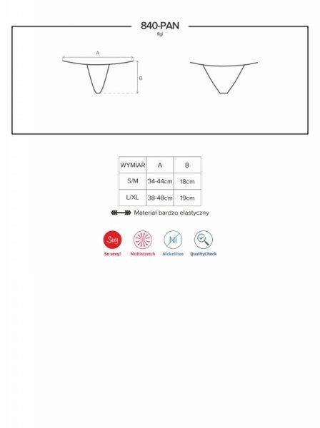 Bielizna 840 PAN1 figi L/XL