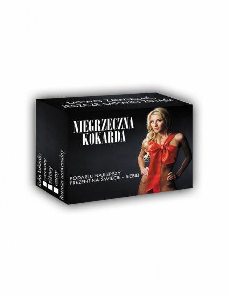 Bielizna-PREZENTYNA - Niegrzeczna Kokarda Różowa