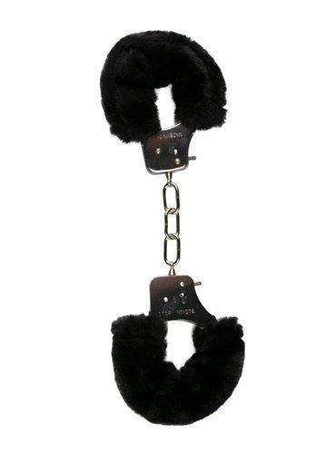 Kajdanki-Furry Handcuffs - Black