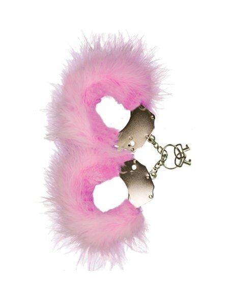 Kajdanki Metallic Handcuffs różowe