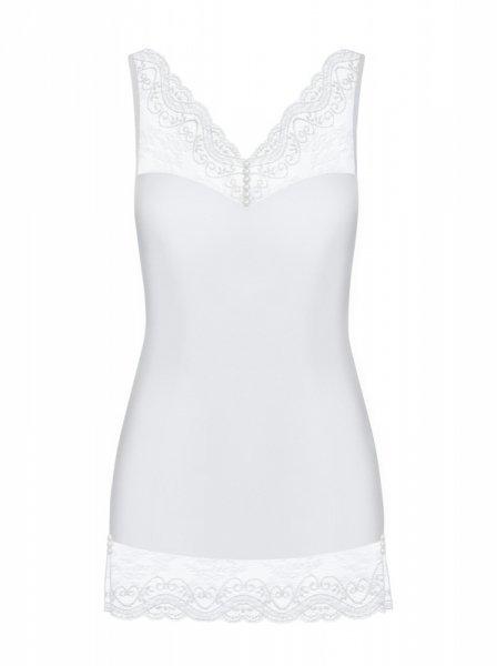Miamor koszulka i stringi biała  S/M