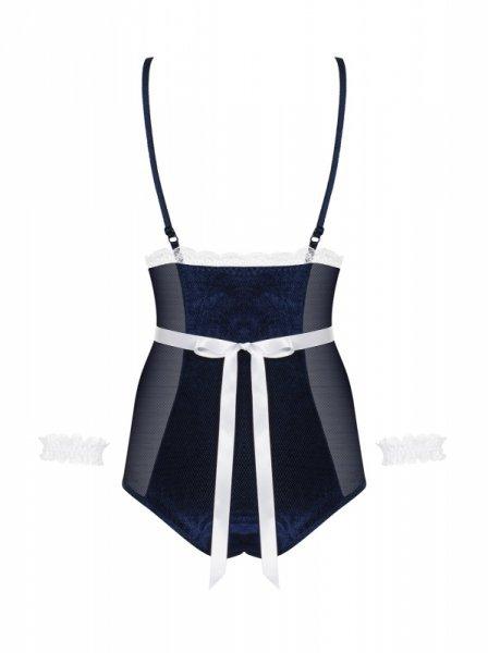 Bielizna Maid body niebieskie L/XL