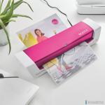 Laminator iLam Home OFFICE A4 różowy 73680023 LEITZ