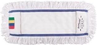 Mop kieszeniowy bawełna biała linia premium 40cm Pętelkowo – Cięty
