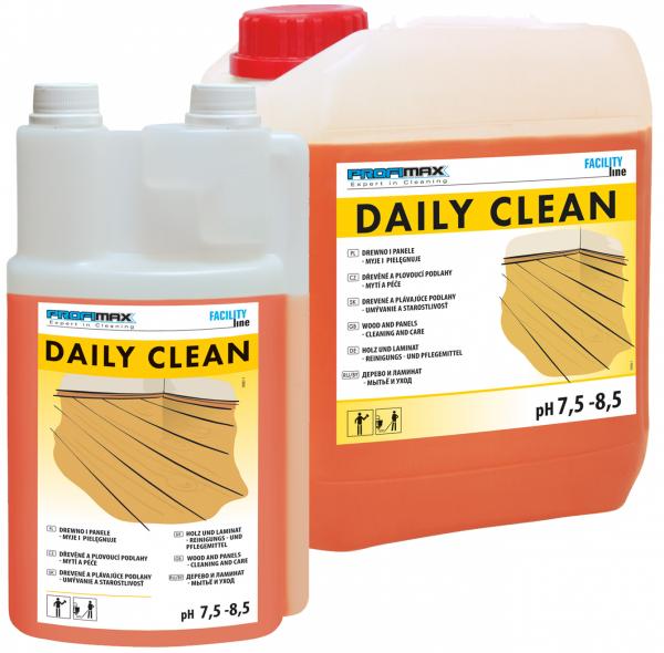 DAILY CLEAN - DREWNO i PANELE  - do mycia i pielęgnacji 1l