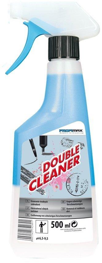 DOUBLE CLEANER  - do trudnych zabrudzeń 500ml