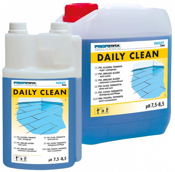 DAILY CLEAN - PVC, GLAZURA I TERAKOTA - do mycia i pielęgnacji 1l