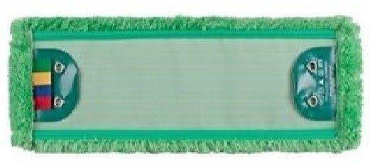 Mop Tes (2 oczka) mikrofaza zielona linia premium 40cm