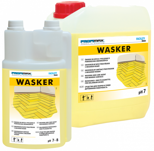 WASKER  - do mycia i pielęgnacji powierzchni drewnianych 5l