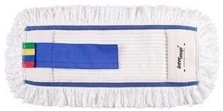 Mop Kombi bawełna biała tuft krzyżowy linia premium    40cm Pętelkowo-Cięty