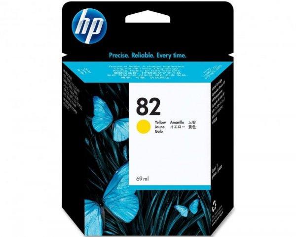 HP Tusz nr 82 C4913A Yellow 69ml