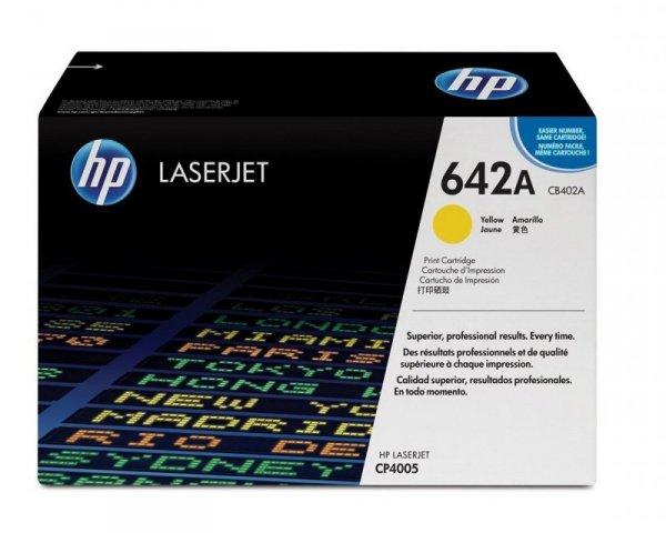 HP Toner nr 642A CB402A Yellow 7,5K
