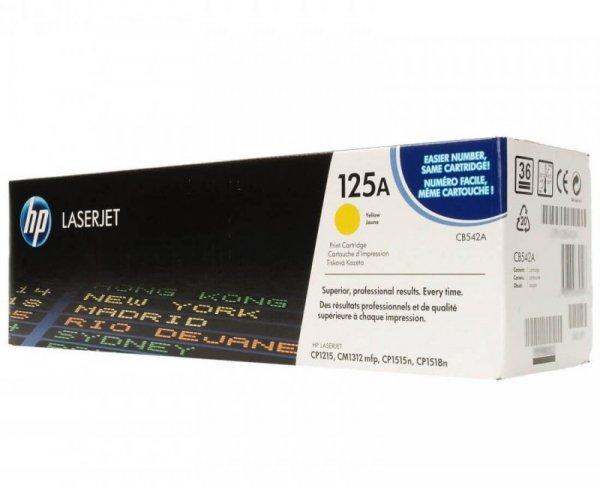 HP Toner nr 125A CB542A Yellow 1,4K