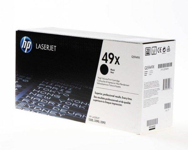 HP Toner nr 49X Q5949X Black 6K