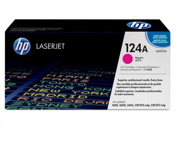 HP Toner nr 124A Q6003A Magenta 2K