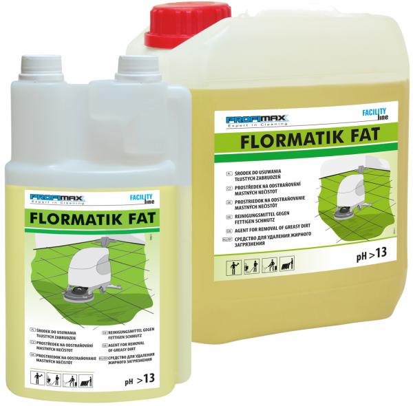 FLORMATIK FAT - środek do usuwania tłustego brudu 5l
