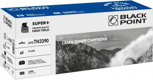 Black Point toner LBPBTN3390 zastępuje Brother TN-3390, 12000 stron