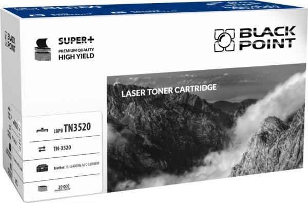 Black Point toner LBPBTN3520 zastępuje Brother TN-3520, 20000 stron