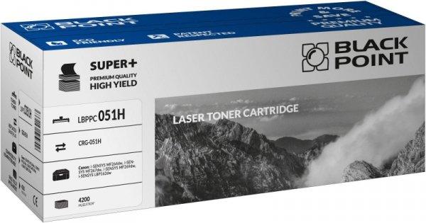 [LBPPC051H] Toner Black Point S+ (Canon CRG-051H)