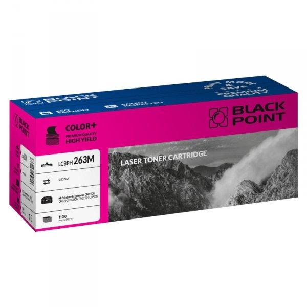 Black Point toner LCBPH263M zastępuje HP CE263A, czerwony